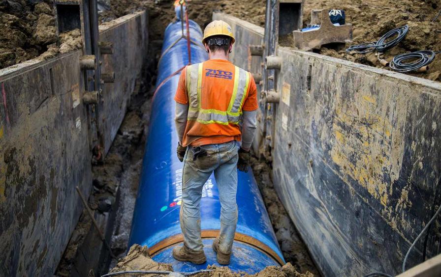Flint Water Pipeline