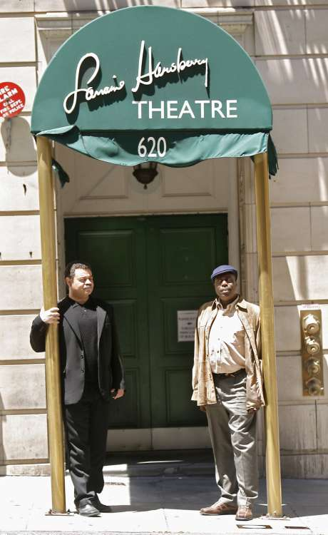 Above: The two late founders, Quentin Easter and Stanley Wil liams, at the old Lorraine Hansberry Theater on Sutter Street, 2007. Left: Artistic Director Steven Anthony Jones. Photo: Kurt Rogers, The Chronicle