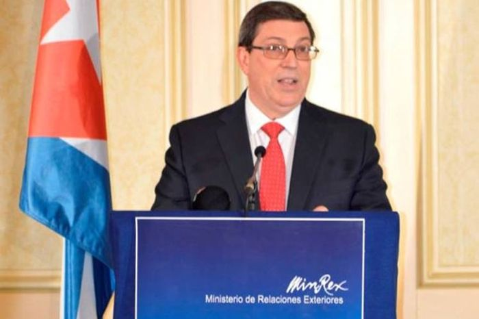 escambray today, bruno rodriguez parrilla, cuba, cuba-usa relations, cuban government, cuban people, donald trump, us blockade against cuba