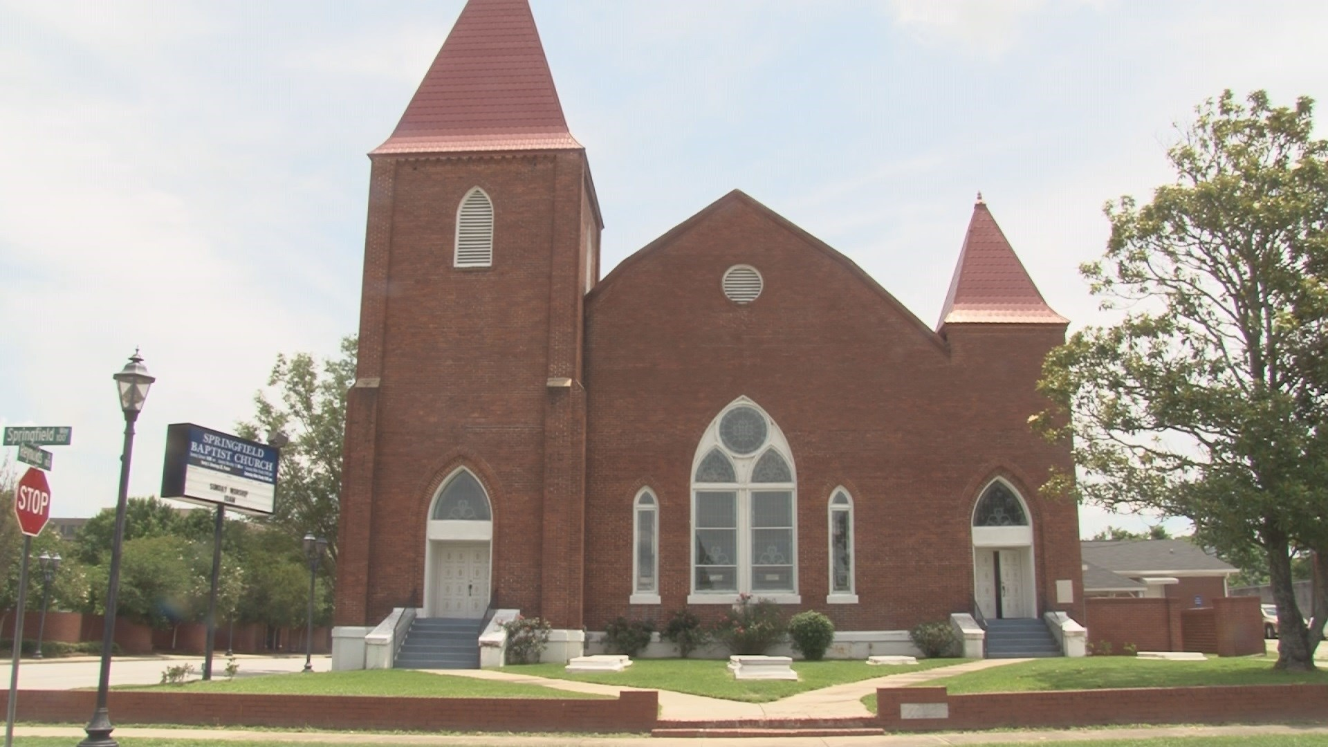 Local: The oldest African American baptist church to be in continuous service in the United States holds mortgage burning ceremony. (wfxg)