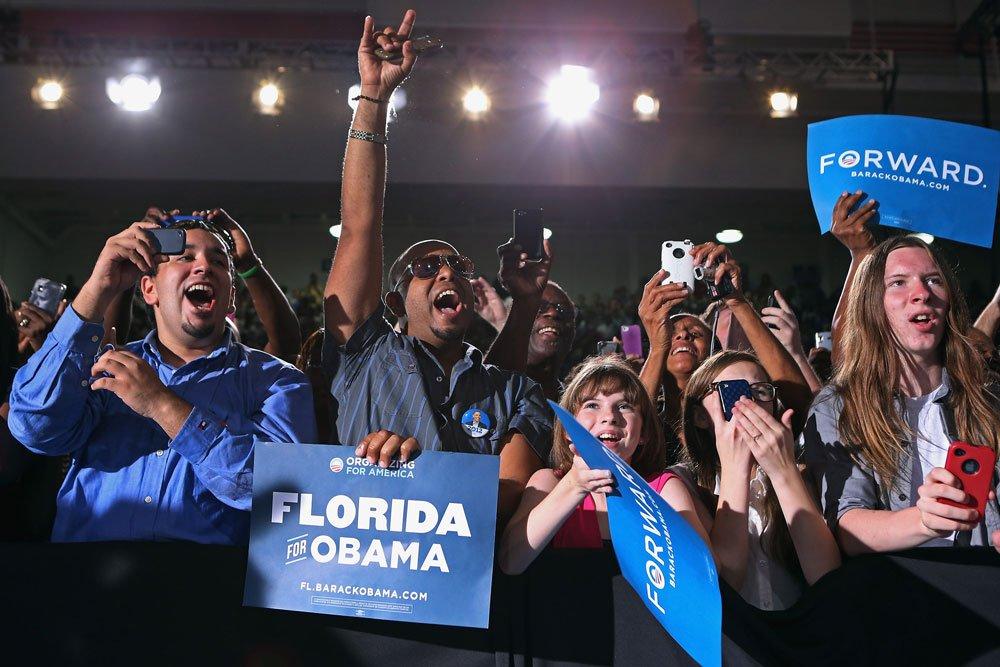 obama supporters fans florida