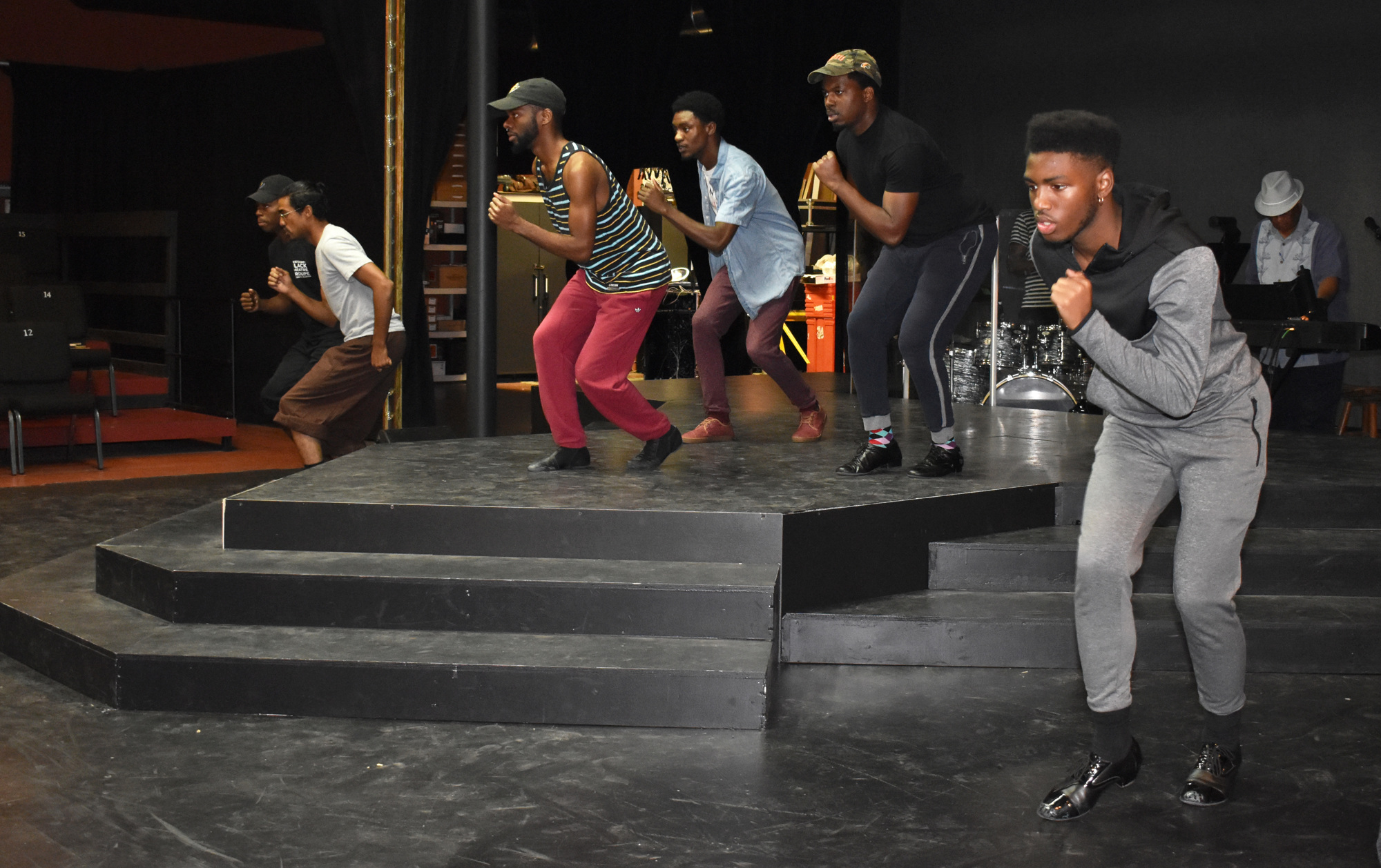 This production is different than past Westcoast Black Theatre Troupe shows because the cast learned the choreography and music at the same time. Photo by Niki Kottmann