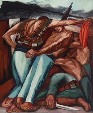 Paint the Revolution by Jose Clemente Orozco, in Paint the Revolution: Mexican Modernism will be on display through August 13.