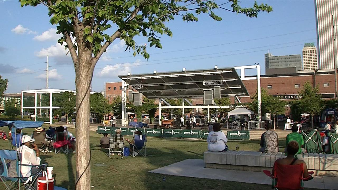 There will also be movies and music at Guthrie Green.