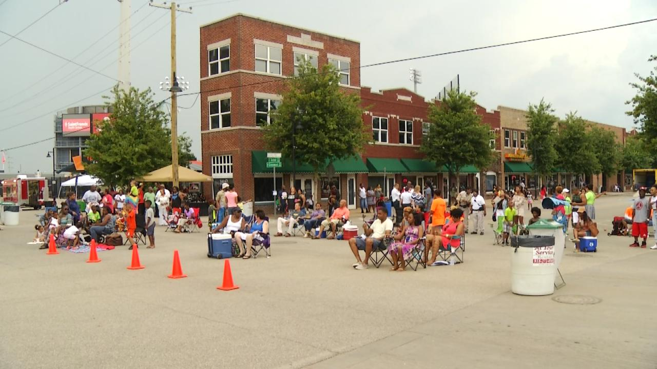 Many events take place in the historic Greenwood District.