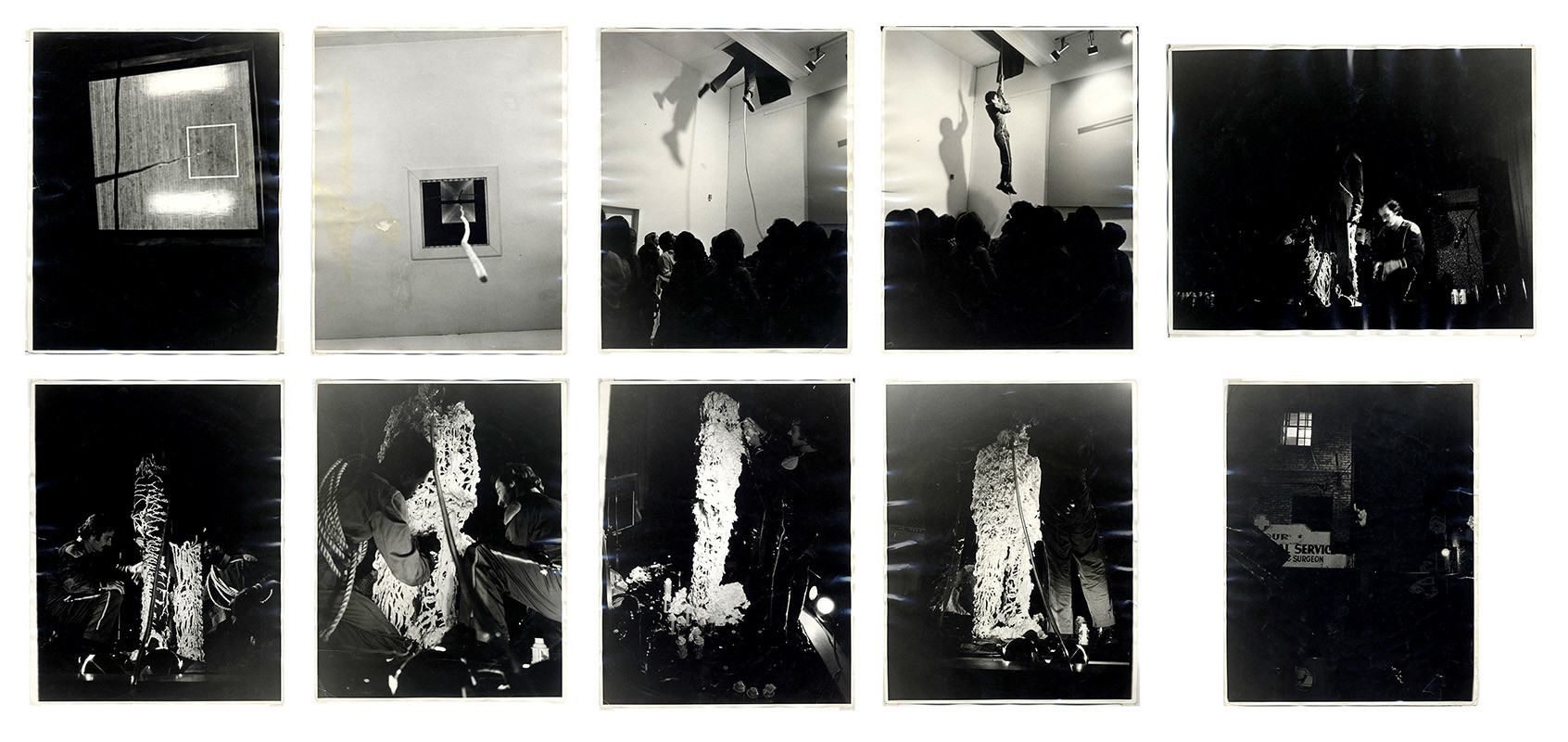 """""""The Green Hotel Performance,"""" 1972, by Joe Ray at Diane Rosenstein."""