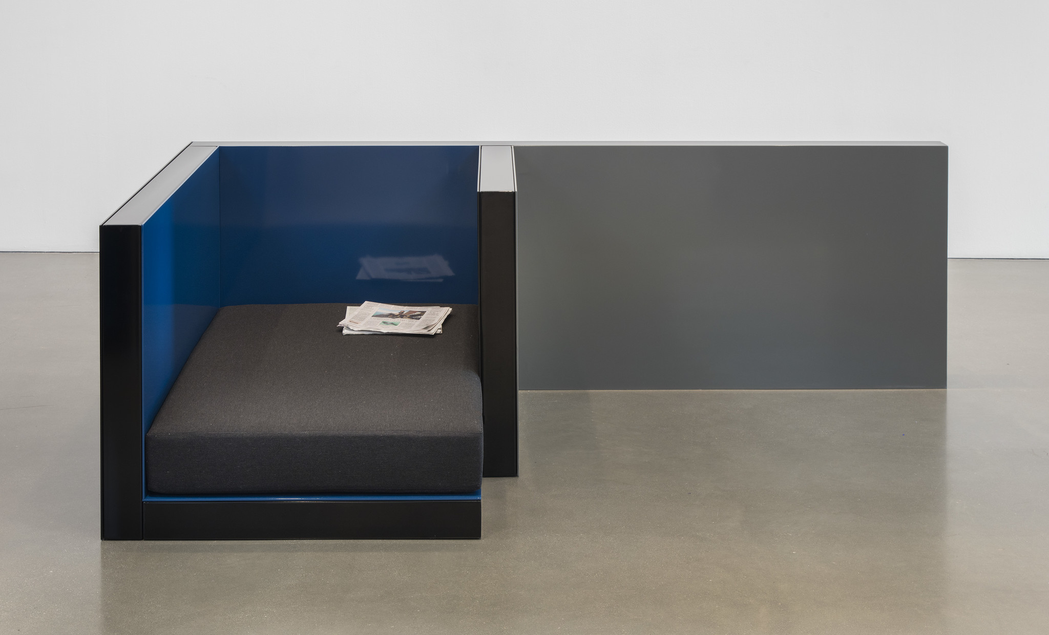 """""""Planar Configuration Two [#1],"""" by Andrea Zittel at Regen Projects."""