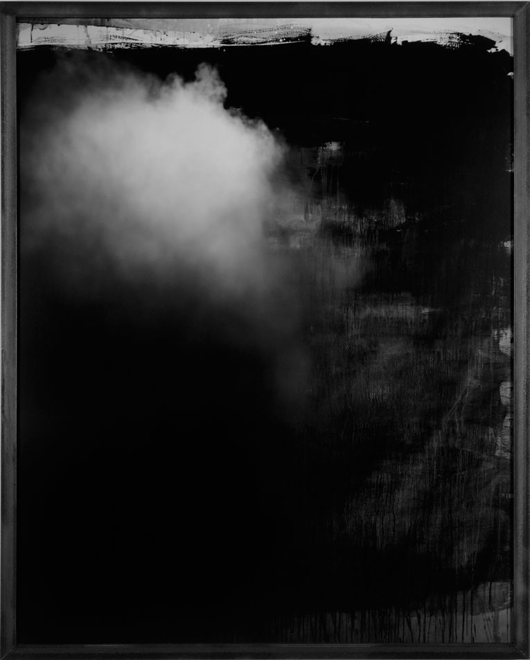 An abstraction by John Divola from the 1990s, on view at Gallery Luisotti.