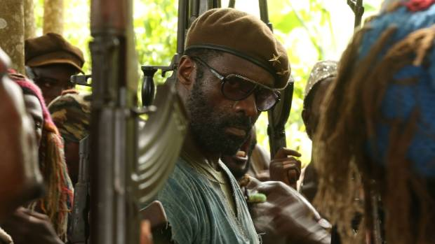 Idris Elba played the dastardly Commandant in Netflix's Beasts of No Nation.