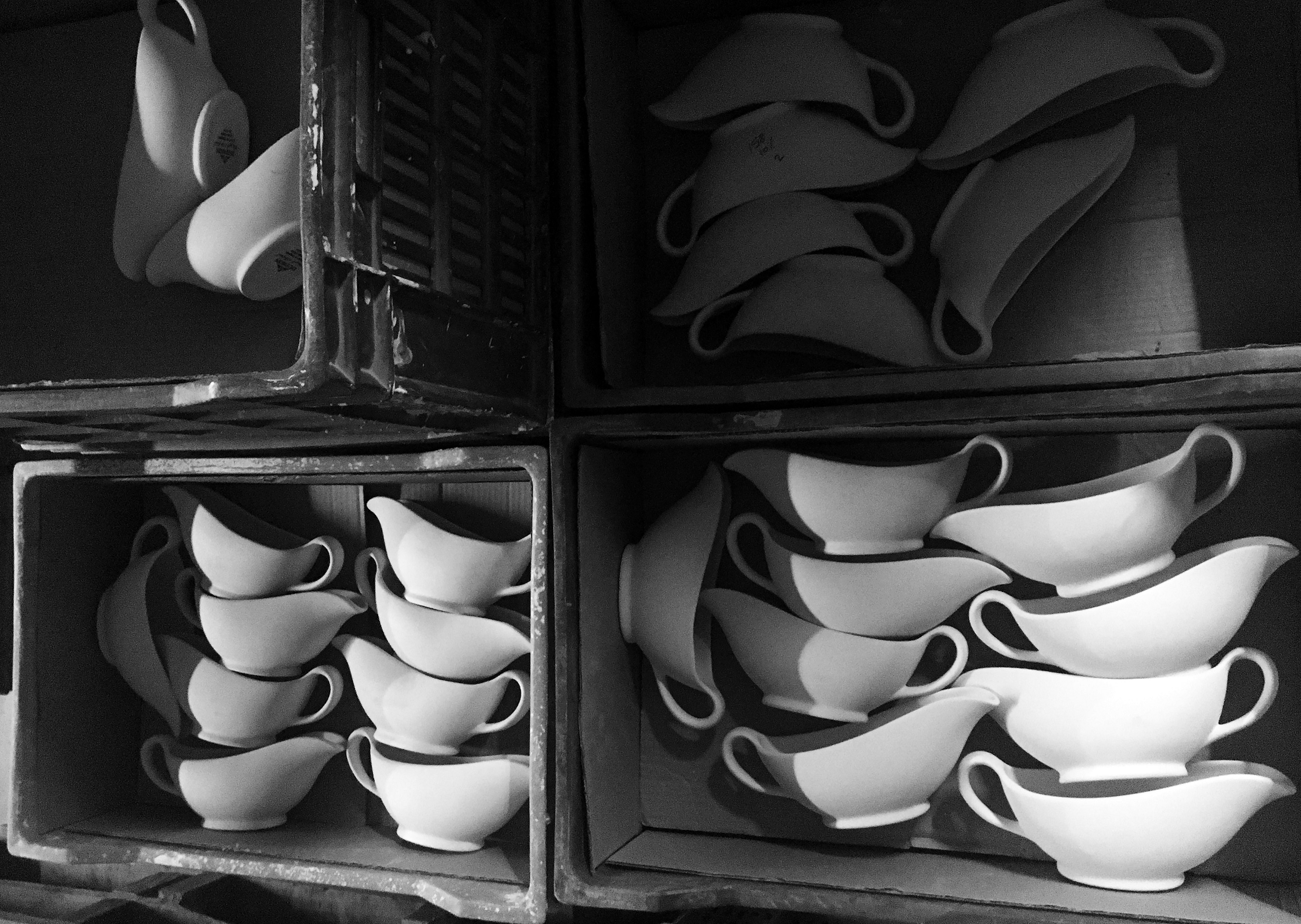 Clare Twomey's Dudson Factory.