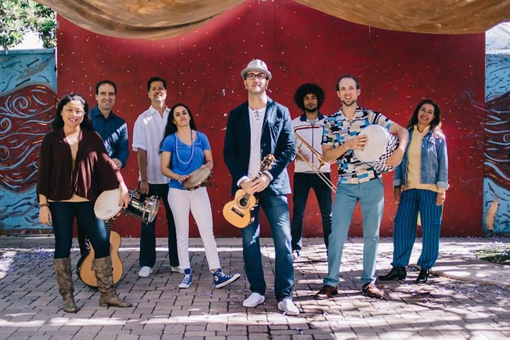 Samba Society performs Brasil 70: Samba/Soul/Resistance this Friday at Ford Theatres.