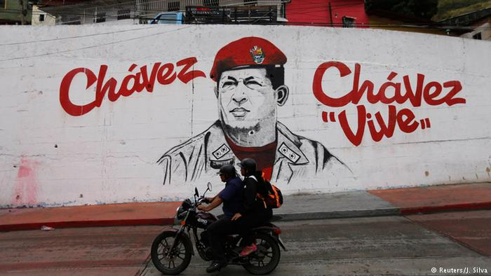 Graffiti of Hugo Chavez