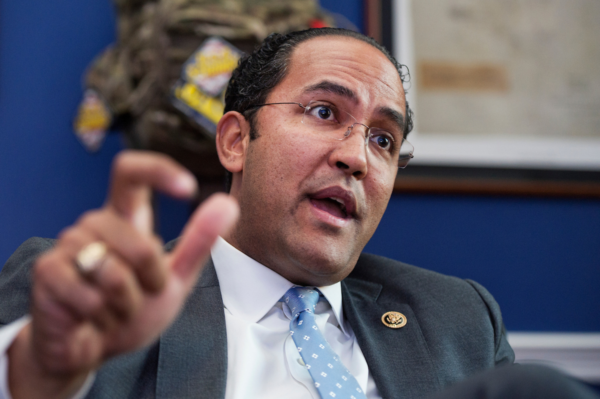 Rep. Will Hurd, R-Texas, is a vulnerable House Republican. (Tom Williams/CQ Roll Call File Photo)