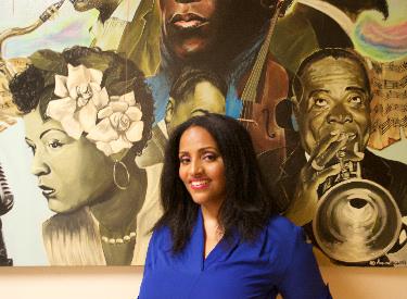 Melissa Hunter Davis, Founder, and editor of Sugarcane Magazine, where to find black art in art basel miami