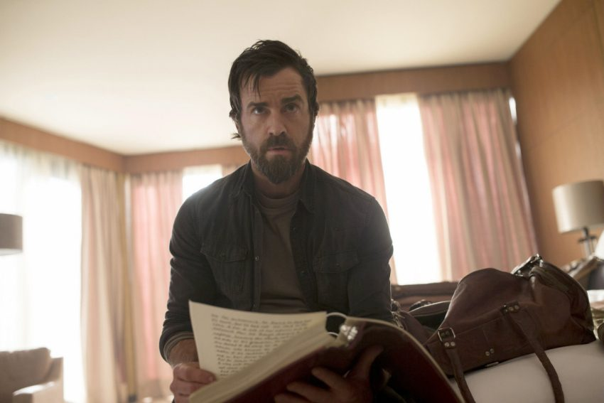 Justin Theroux in The Leftovers, whose three seasons were the most audaciously imagined, brilliantly written and beautifully acted work Johanna Schneller has ever seen.