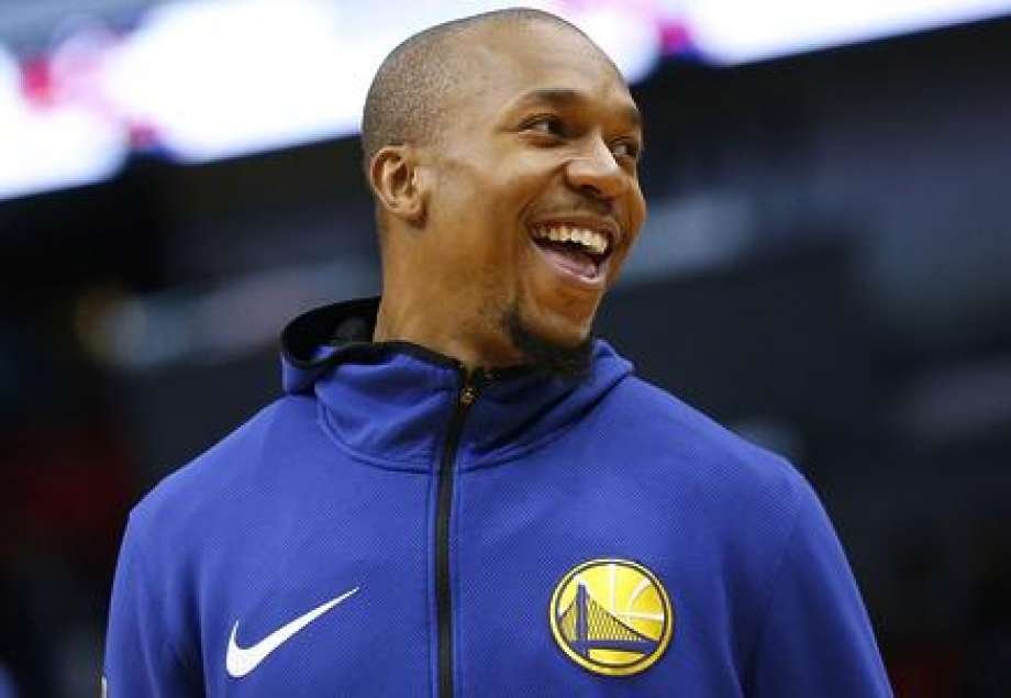 NEW ORLEANS, LA - DECEMBER 04: David West #3 of the Golden State Warriors warms up before a game against the New Orleans Pelicans at the Smoothie King Center on December 4, 2017 in New Orleans, Louisiana. NOTE TO USER: User expressly acknowledges and agrees that, by downloading and or using this Photograph, user is consenting to the terms and conditions of the Getty Images License Agreement. (Photo by Jonathan Bachman/Getty Images) Photo: Jonathan Bachman / Getty Images / 2017 Jonathan Bachman