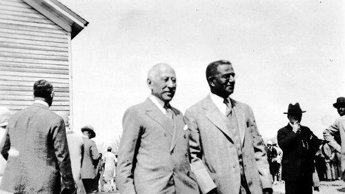 Rosenwald with Booker T. Washington