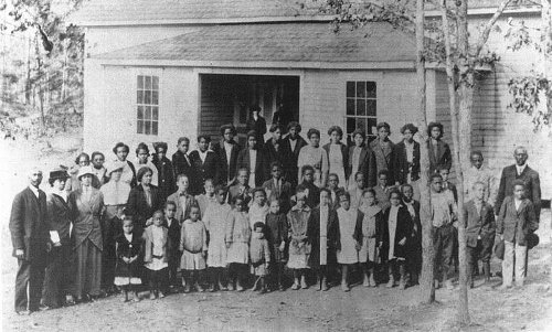 One of the Rosenwald Schools
