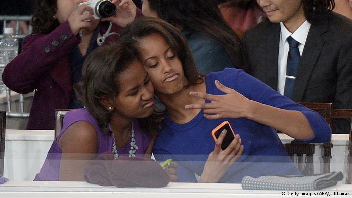USA Familie Obama im Weißen Haus (Getty Images/AFP/J. Klamar)