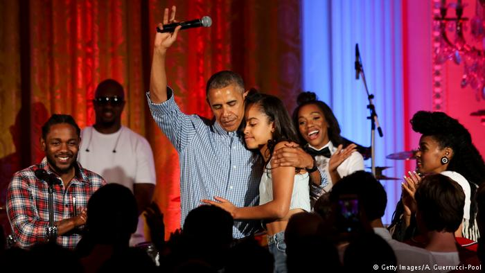 USA   18. Geburtstag von Malia Obama (Getty Images/A. Guerrucci-Pool)