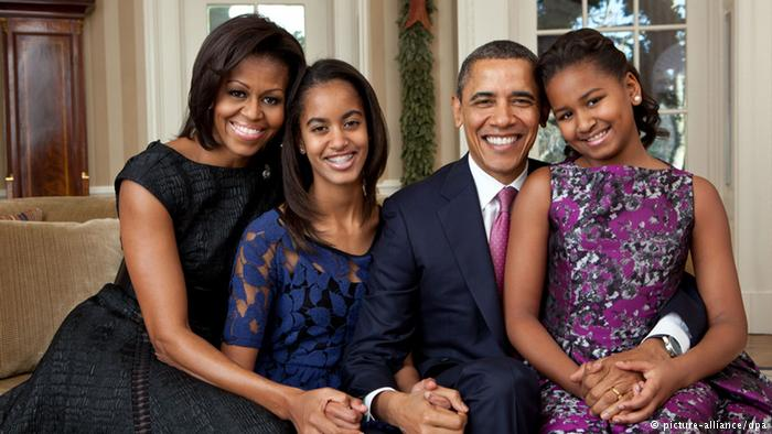 Obama family (picture-alliance/dpa)