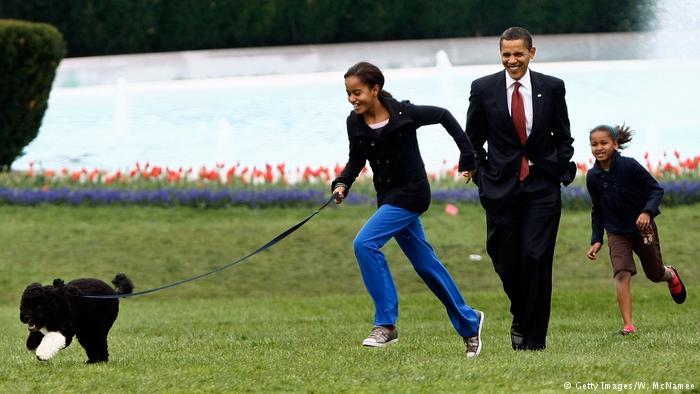 USA Familie Obama im Weißen Haus (Getty Images/W. McNamee)
