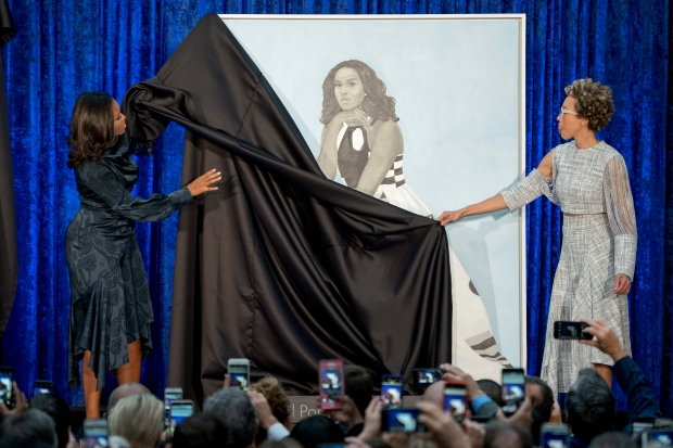 Michelle Obama Portrait unveil Feb.12/18