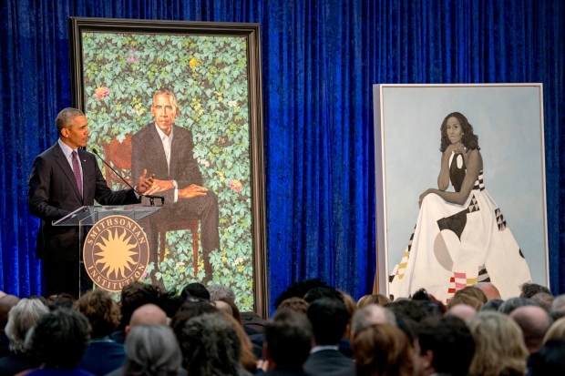 Obama Portrait address Feb.12/18