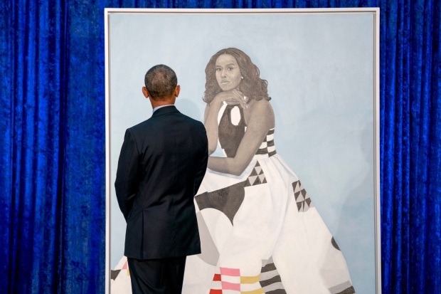 Obama first lady Portrait Feb.12/18