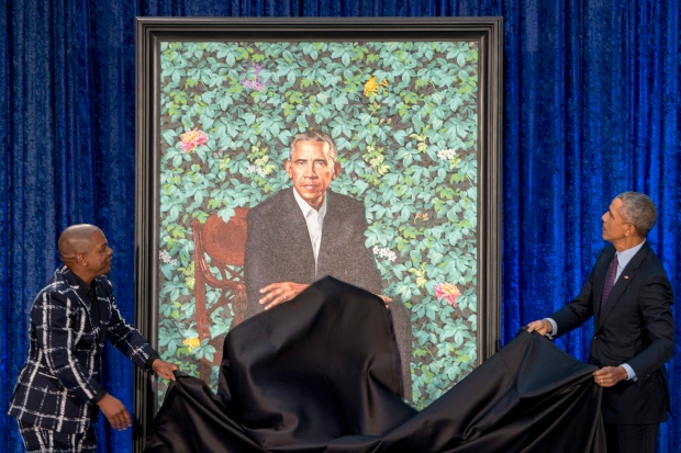 Barack Obama Portrait unveil Feb.12/18