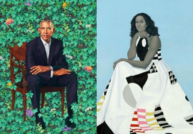 Obamas Unveil Official Portraits, Reveal Lasting Legacy