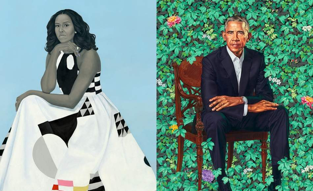 Michelle and Barack Obama. Credit:Supplied