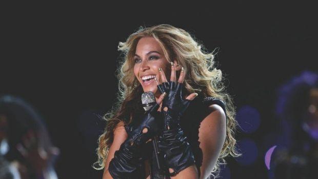 Singer Beyonce Knowles.