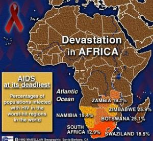 The devastation of Aids in Africa