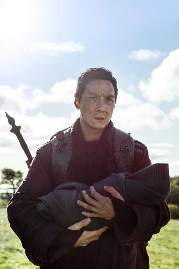 Daniel Wu as Sunny - Into the Badlands _ Season 3, Episode 1 - Photo Credit: Aidan Monaghan/AMC Photo: Credit: Aidan Monaghan/AMC / © 2017 AMC Film Holdings LLC. Credit: Aidan Monaghan/AMC.