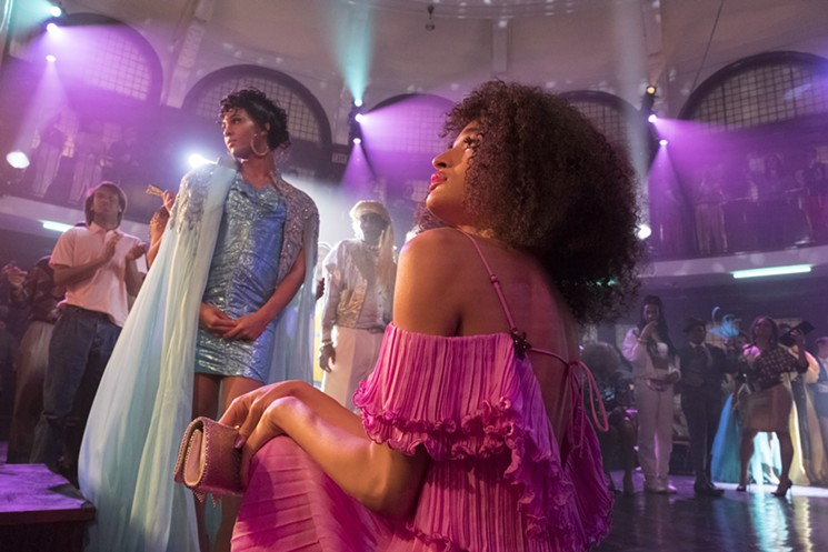 MJ Rodriguez as Blanca, left, and Indya Moore as Angel