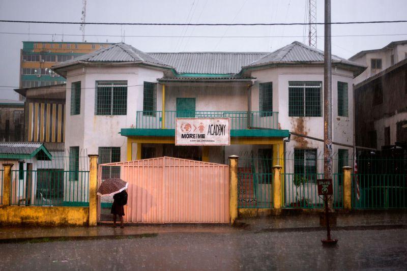 More Than Me Academy in Monrovia, Liberia.