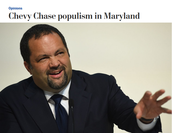 WaPo: Chevy Chase Populism in Maryland