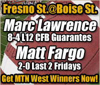 NCAA FB College Football Expert Sports Picks - Fresno State Bulldogs at Boise State Broncos
