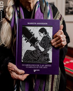 Marilyn Anderson: Documenting the contributions of workers. - PHOTO BY JOSH SAUNDERS