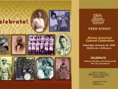 18th Annual African American Cultural Celebration