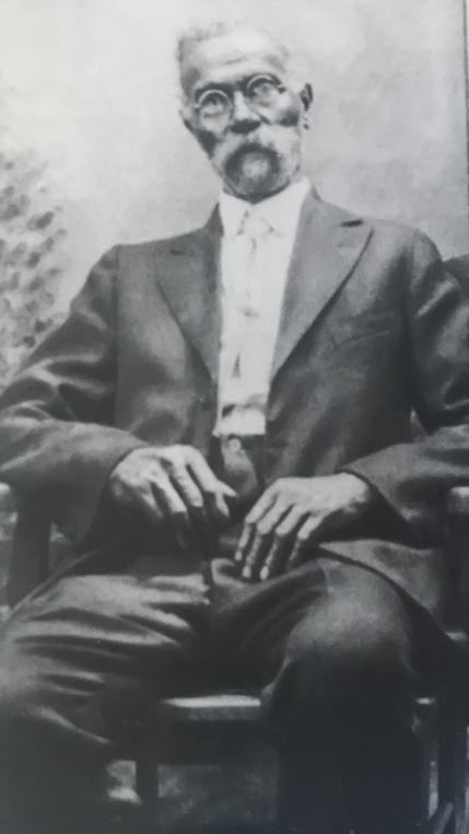 "Charles W. ""Simon"" Kilby, born in Rappahannock County in 1853."