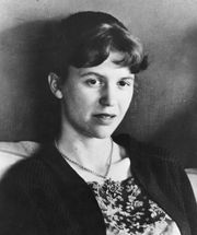 An undated photo of poet Sylvia Plath., 11/911981---Author, Sylvia Plath. ORG XMIT: UT9874