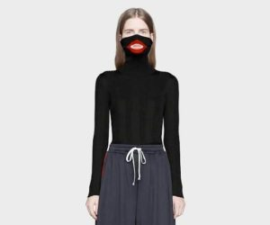 9bb92334896 Italian luxury brand Gucci is the latest fashion company to face  accusations of racial insensitivity after it released an  890 sweater with  a turtleneck ...