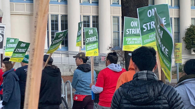 'OUSD Better Have My Money': Teachers Strike in Photos