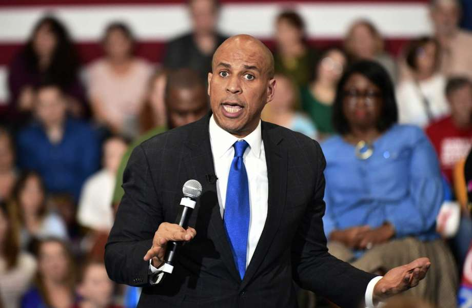Image result for Sen. Cory Booker Harris Distance Themselves From Homophobic Pastor