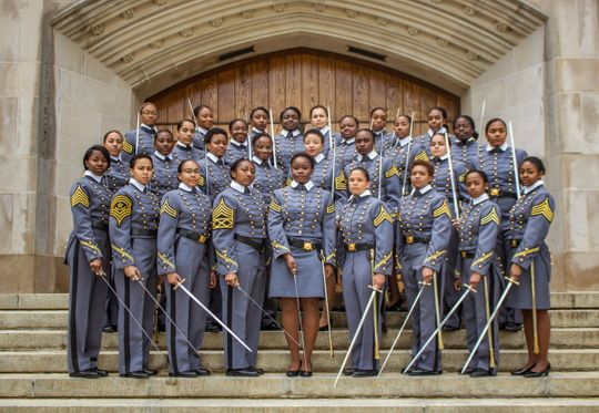 West Point's 2019 class will include a record number of African American females.
