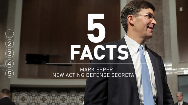 [NATL] 5 Things to Know About the New Acting Defense Secretary