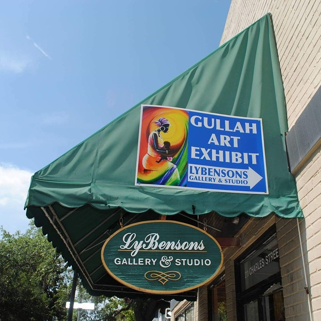 Lybensons Art Gallery is located in downtown Beaufort - PROVIDED