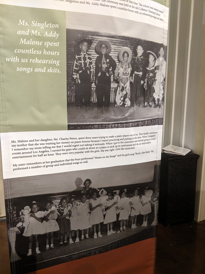 The Colleton Museum has rotating art and history exhibitions - PROVIDED